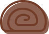 brown roll icon
